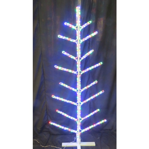 LED Multi Coloured Ropelight Winter Tree