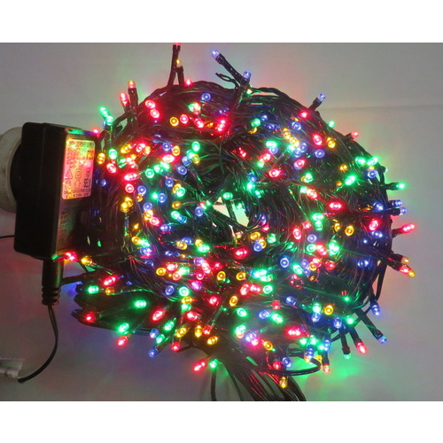 30M Multi LED String Lights with 600 bulbs.