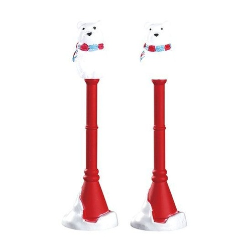 Polar bear Street Lamp, Set of 2