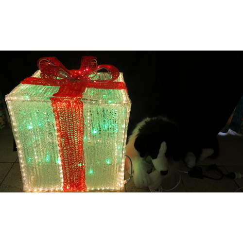 Giant LED Giftbox - 3D