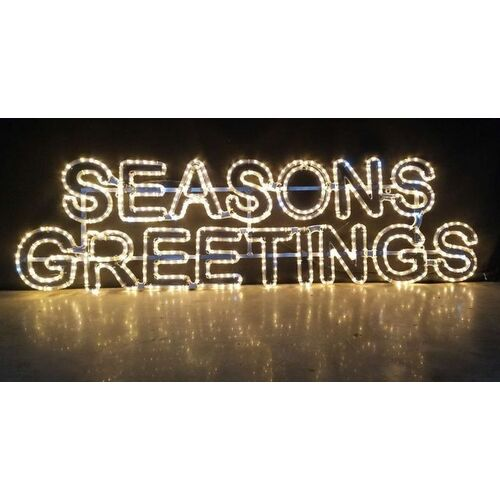 Commercial Seasons Greetings Motif