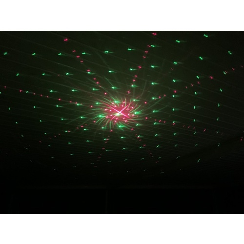 Outdoor Red and Green Christmas Laser with 16 Large Patterns
